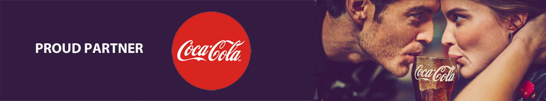 Proud Partner Coca-Cola
